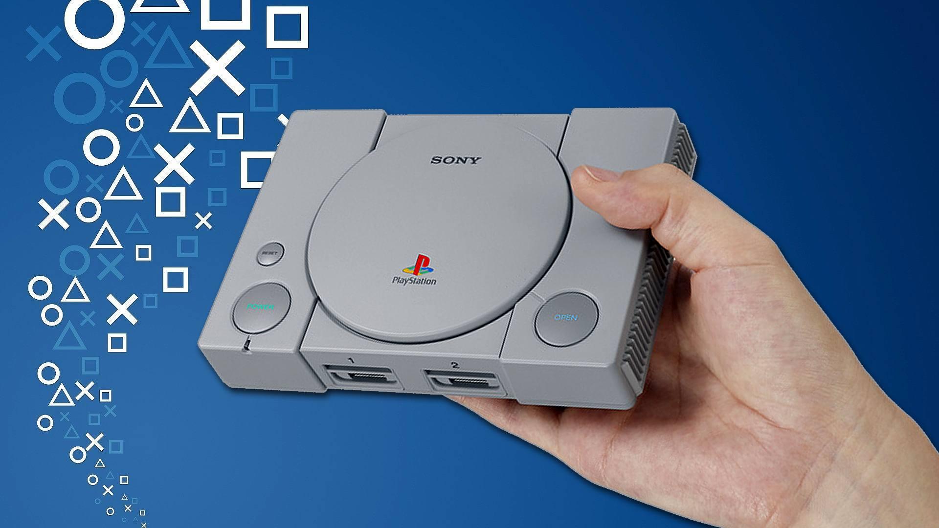 PlayStation Classic попала вруки игровых СМИ