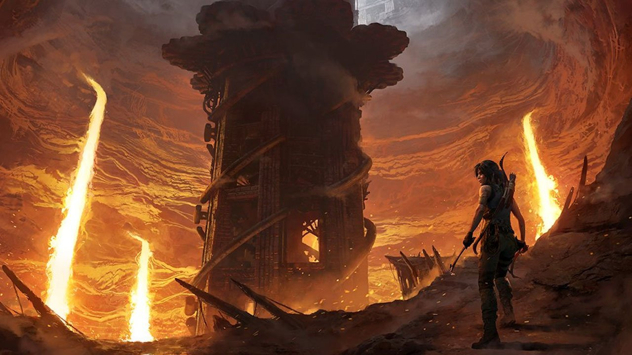 Релиз DLC The Forge для игры Shadow of the Tomb Raider