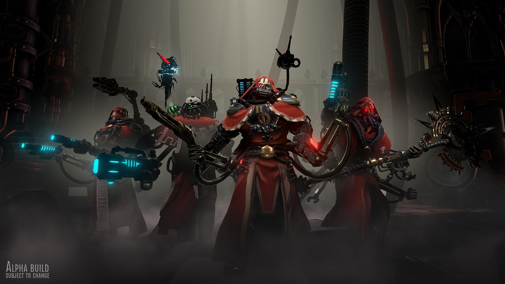 Релиз Warhammer 40.000: Mechanicus