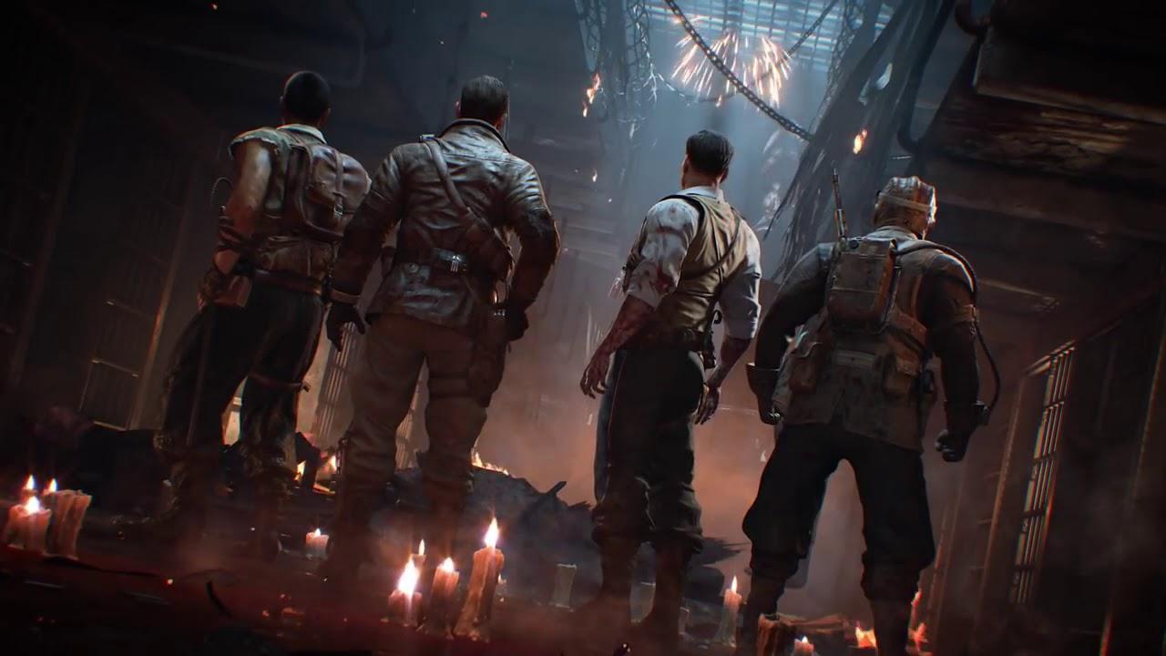 10 минут зомби-режима изновой Call of Duty: Black Ops 4