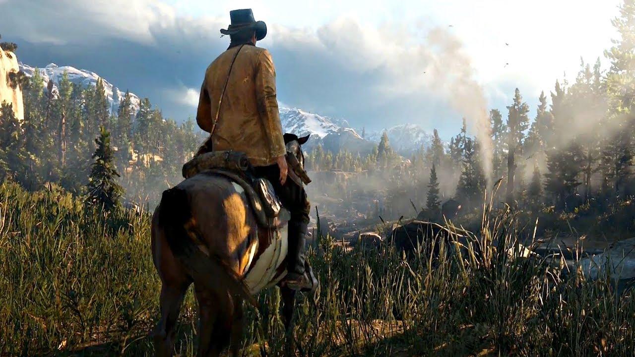 Новый трейлер Red Dead Redemption 2