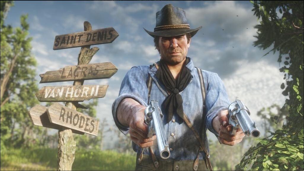 Около 50 видов оружия вRed Dead Redemption 2