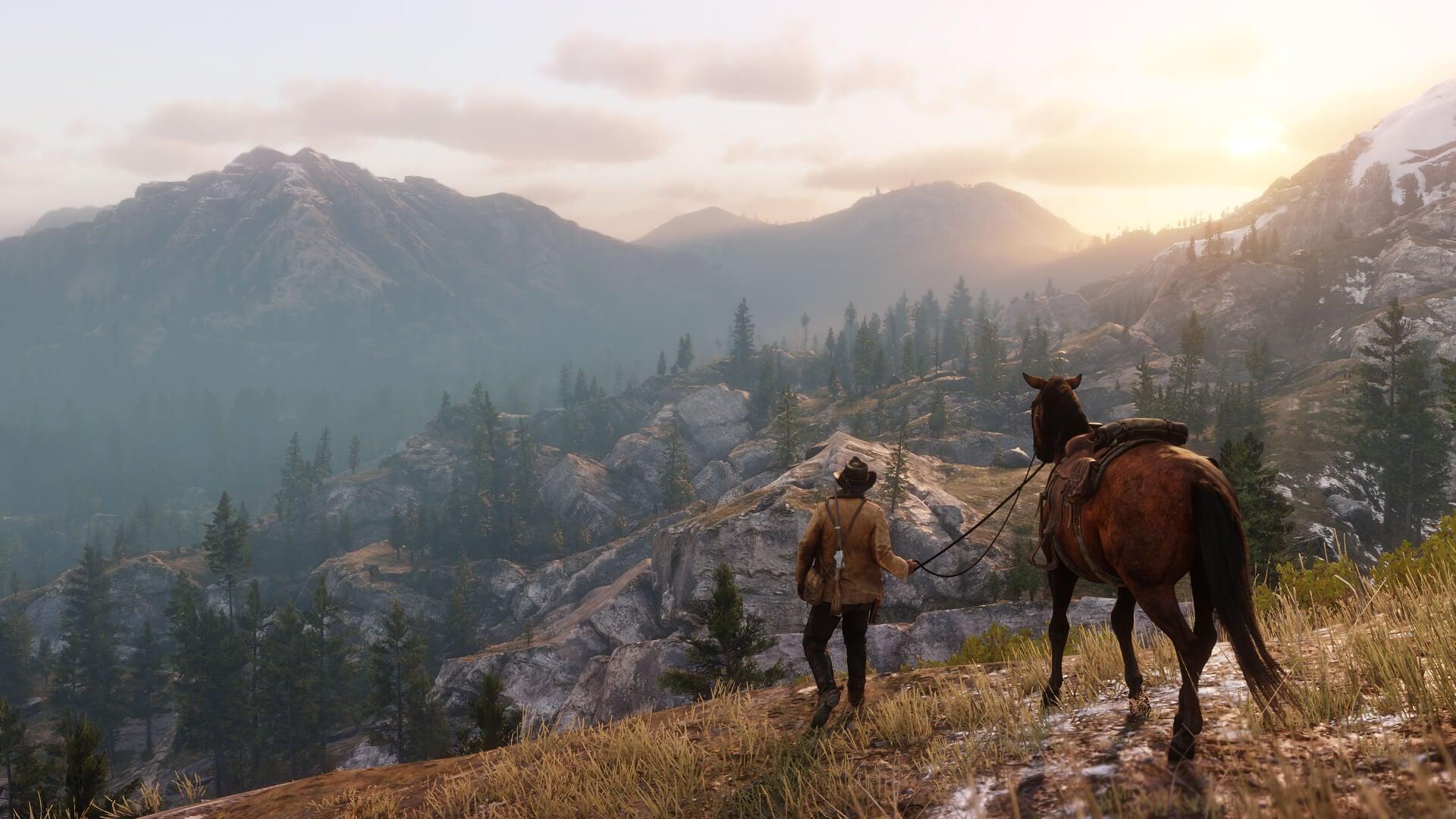 Релиз Red Dead Redemption 2 второй поуспешности вигровой индустрии