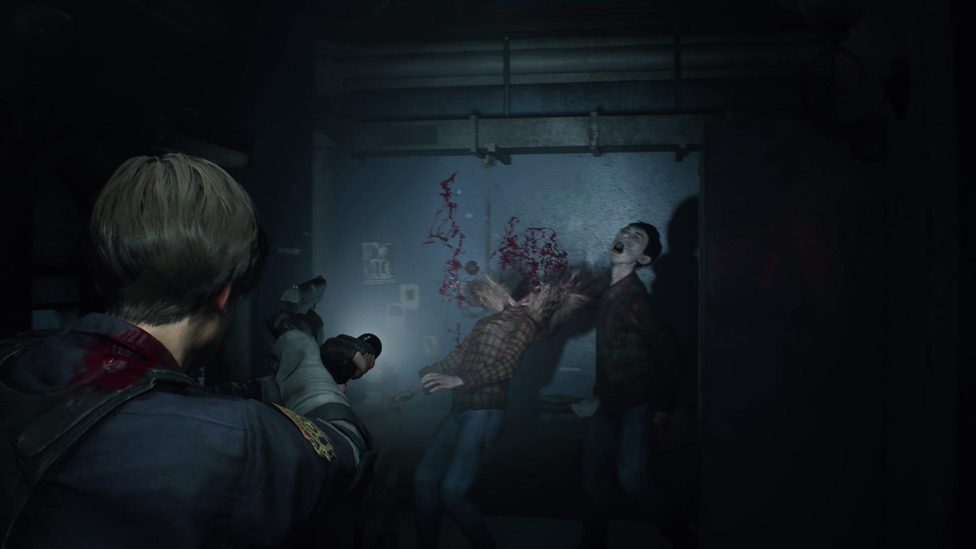 Цензура времейке Resident Evil 2