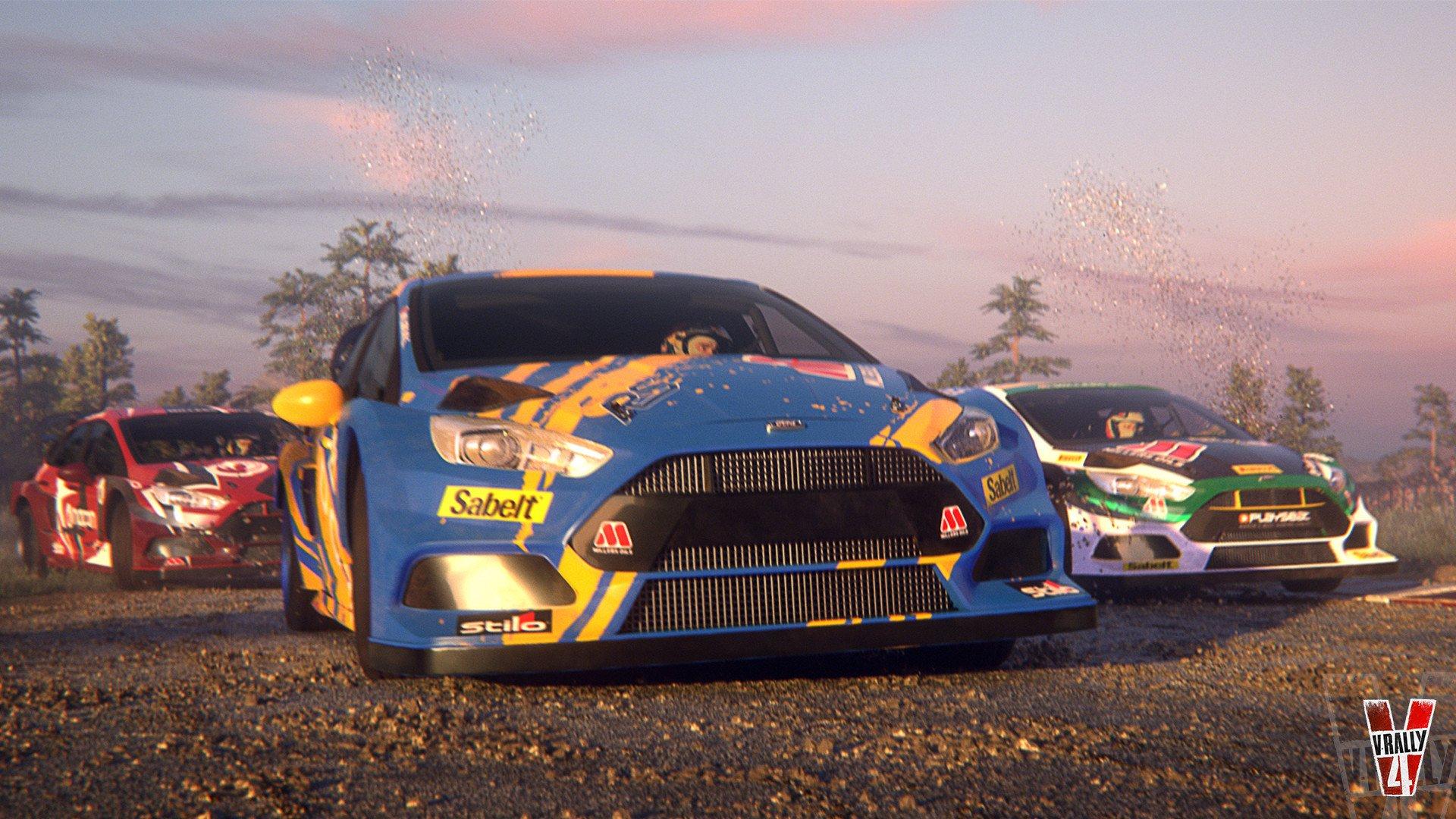 Трейлер V-Rally 4