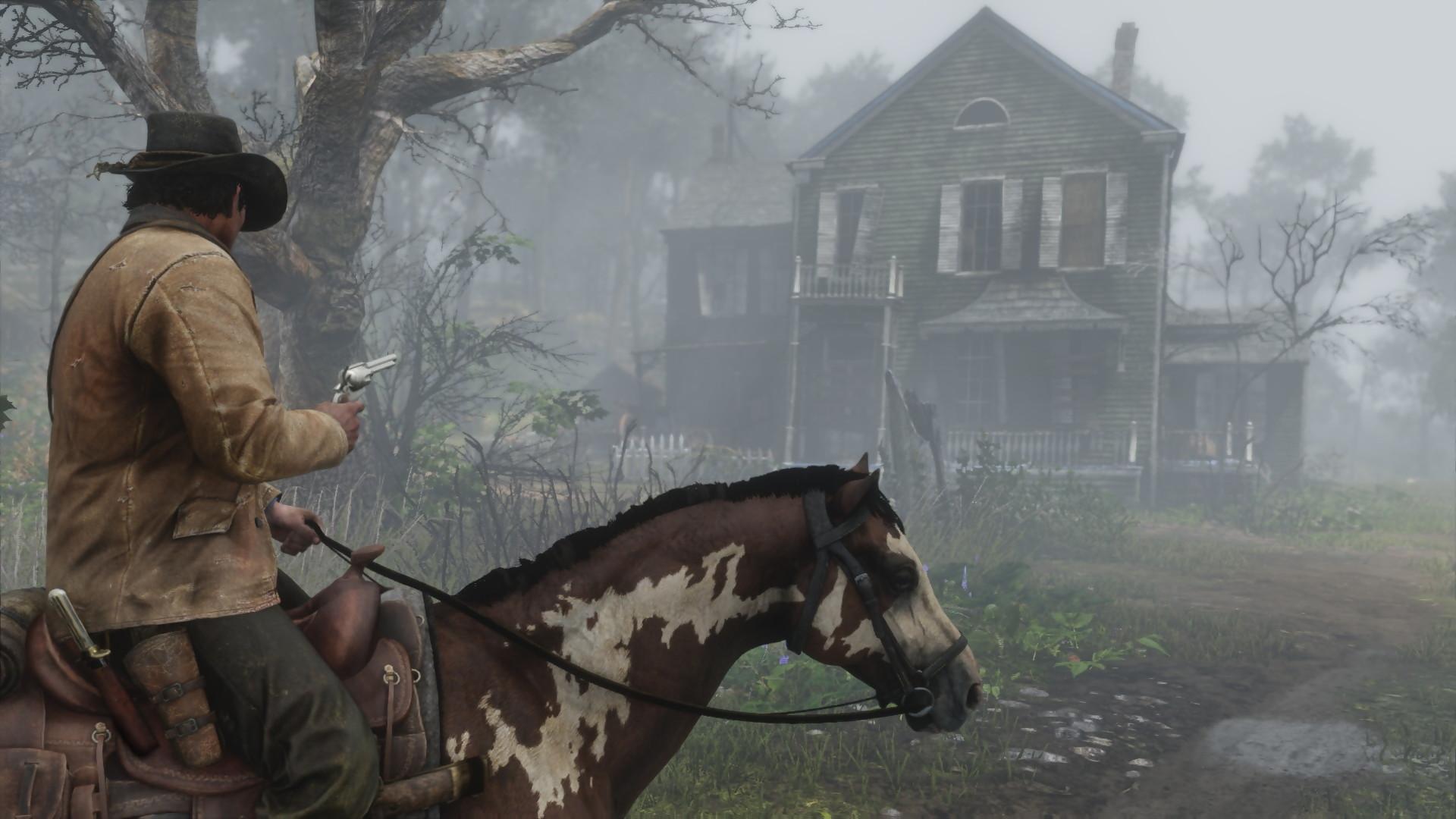 Высможете играть вRed Dead Redemption 2 отпервого лица