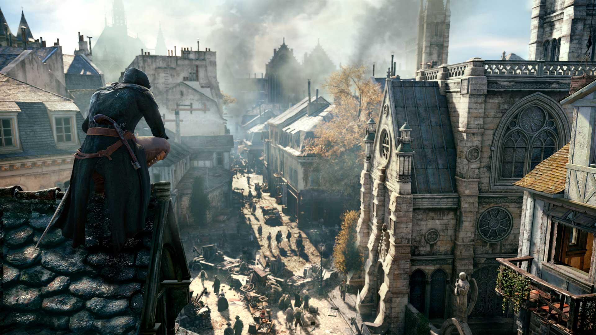 БесплатнаяAssassin's Creed: Unity ипожертвования отUbisoft