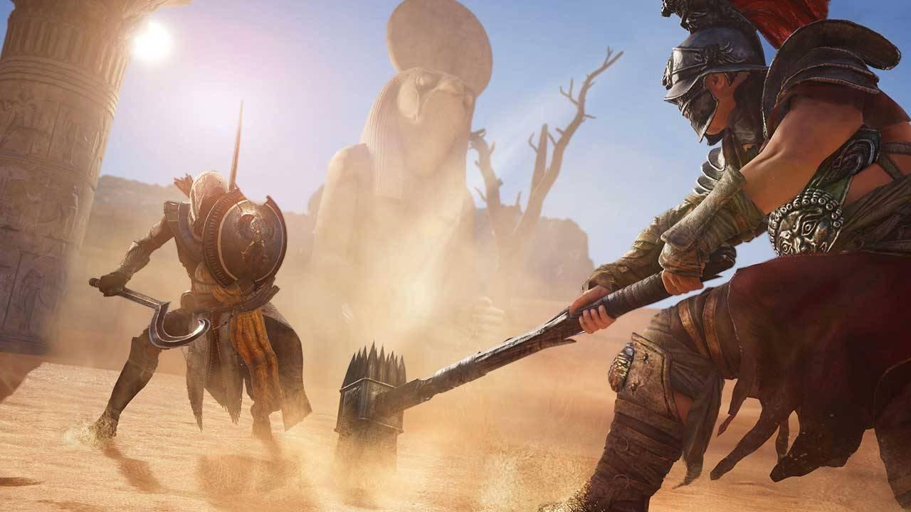 Получите игру Assassin's Creed: Origins совершенно бесплатно