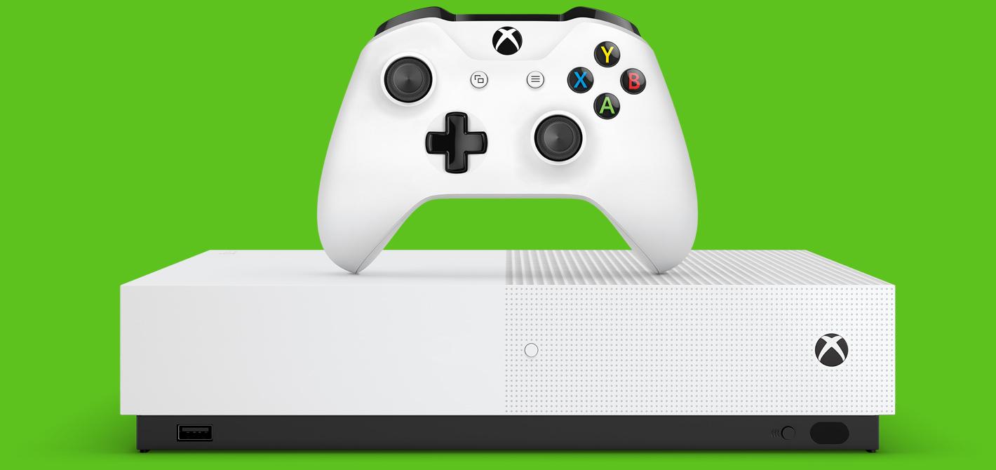Всеть утекла информация остоимости новой бездисковой Xbox One SAll Digital