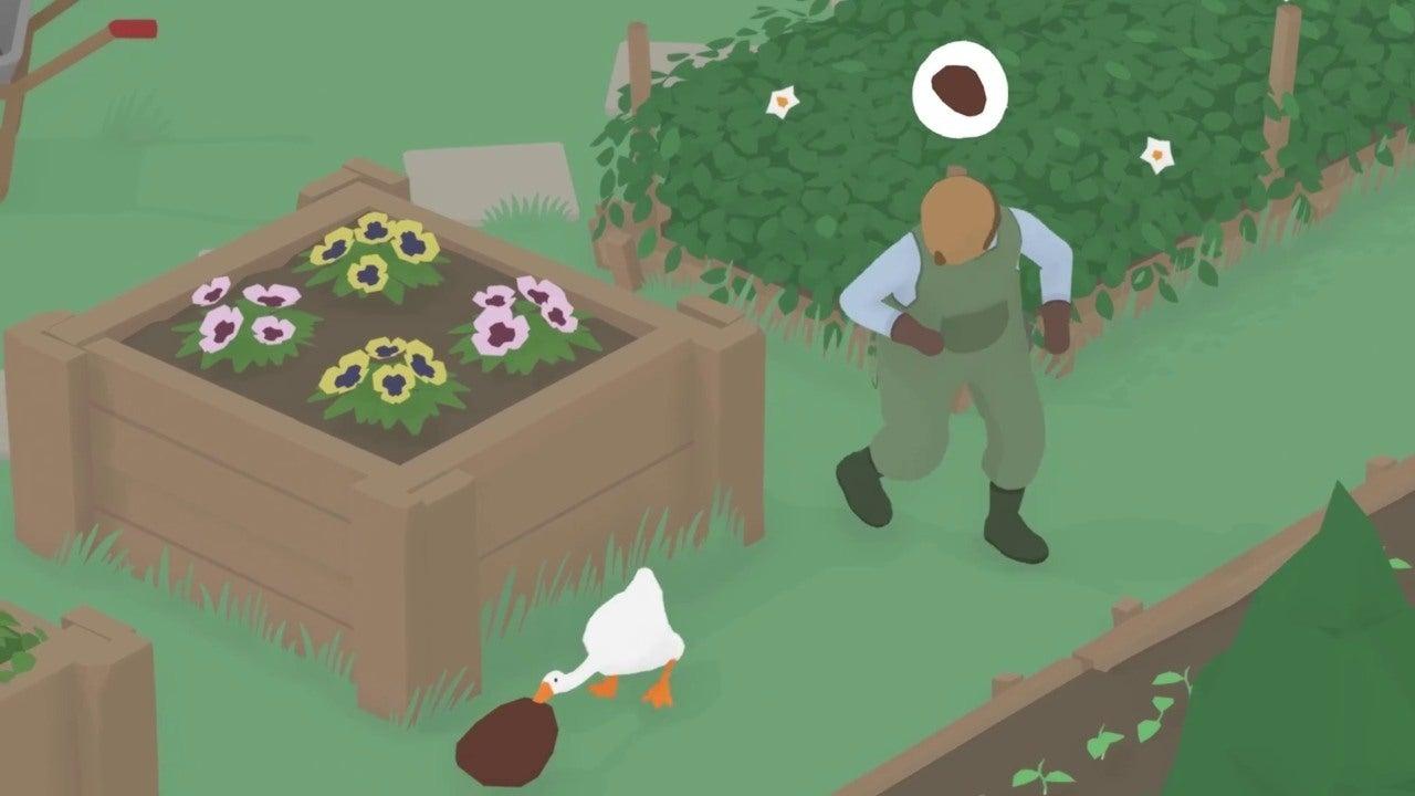 Испортите жизнь деревенским жителям вновом симуляторе гуся