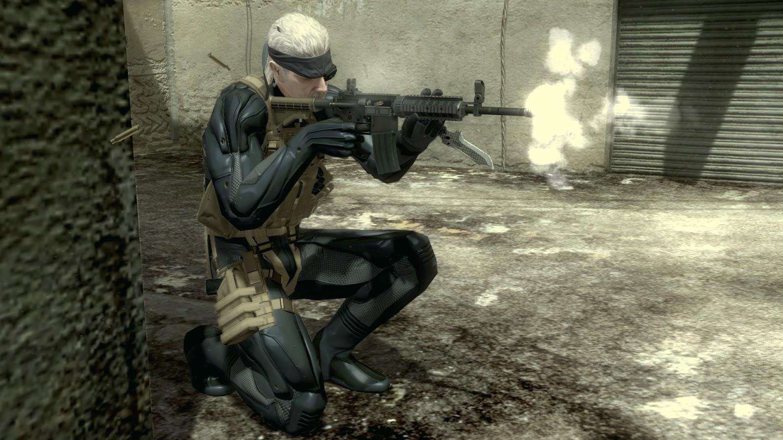 НаPCспомощью эмулятора запустили Metal Gear Solid 4