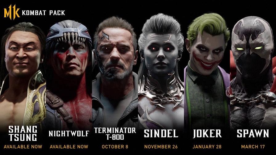 Стали известны все новые персонажи для Mortal Kombat 11