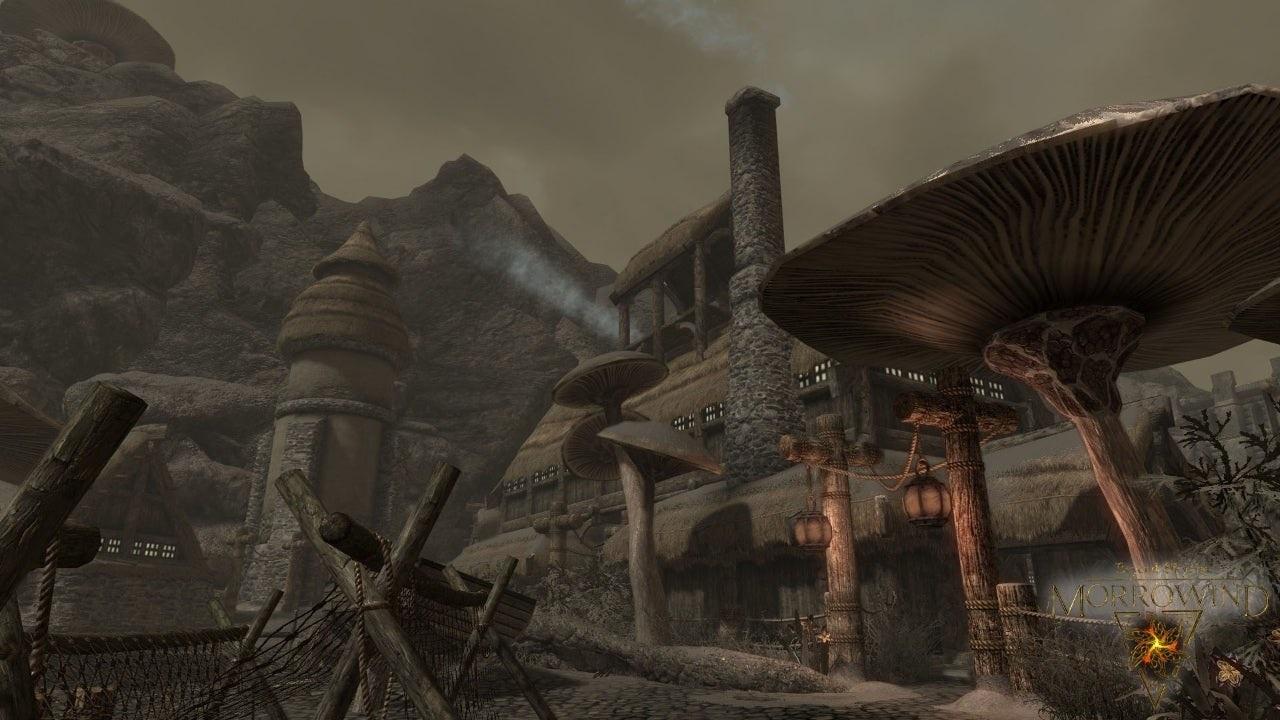 Вновом моде для Skyrim появилась локация Morrowind