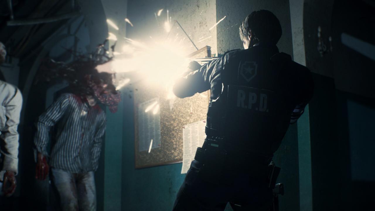 Какбы выглядела Resident Evil 2 состатичной камерой