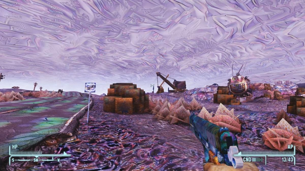 Новый мод для Fallout: New Vegas погрузит вас впсиходелический кошмар