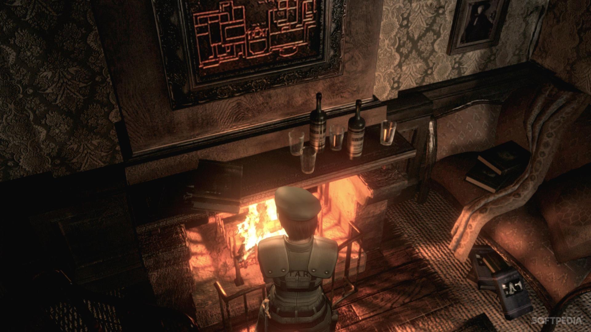 Улучшение текстур вHD-ремастере Resident Evil