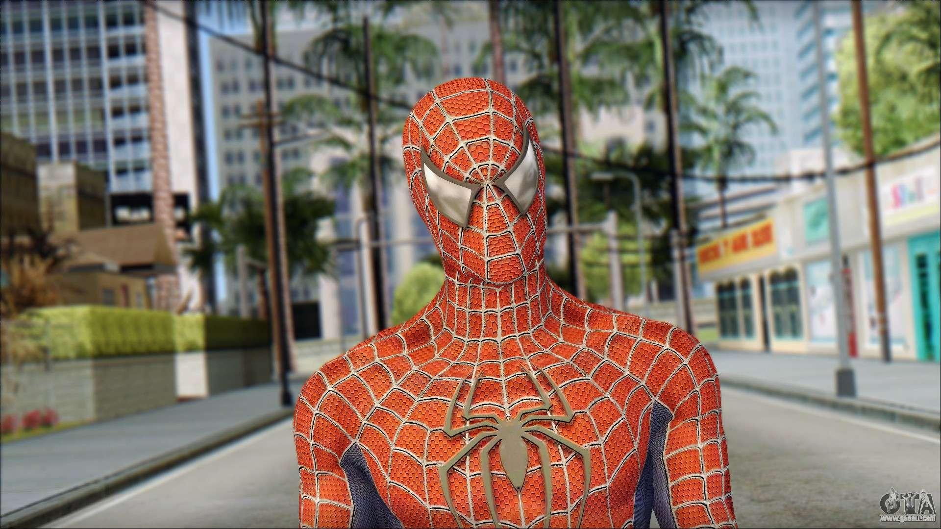 Энтузиаст добавил Человека-паука вGTA San Andreas
