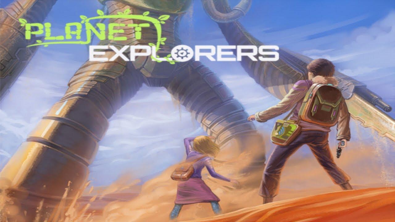 Крутая RPG скрафтом истроительством Planet Explorers полностью бесплатна вSteam