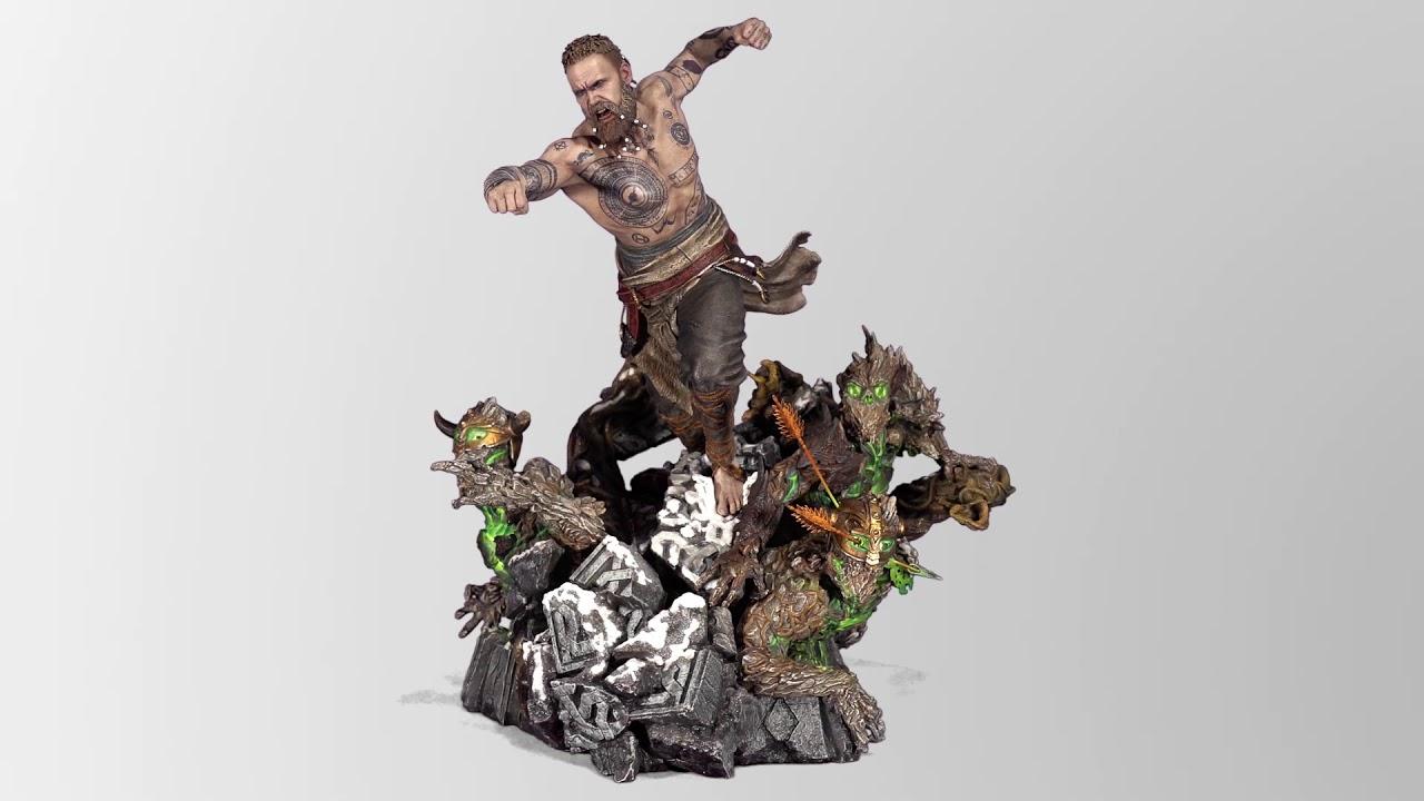 Поигре God ofWar выйдет фигурка одного изгероев, которая весит 24 кг