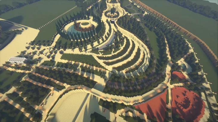 Юный геймер изКраснодара воссоздал вMinecraft копию своего города