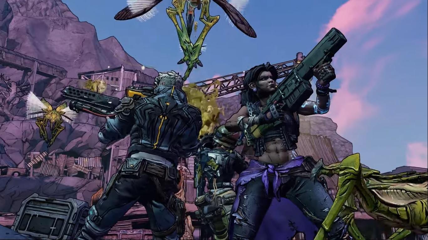 Много стрельбы иоружия вновом трейлере Borderlands 3