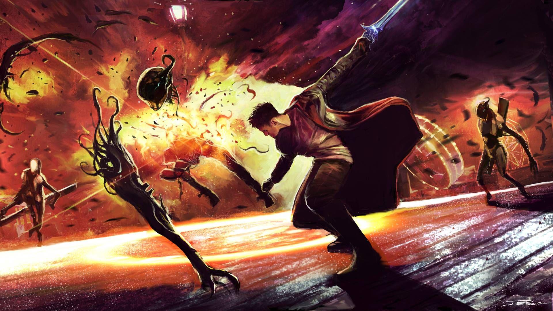 Capcom неотрицает возможное продолжение DmC: Devil may Cry.
