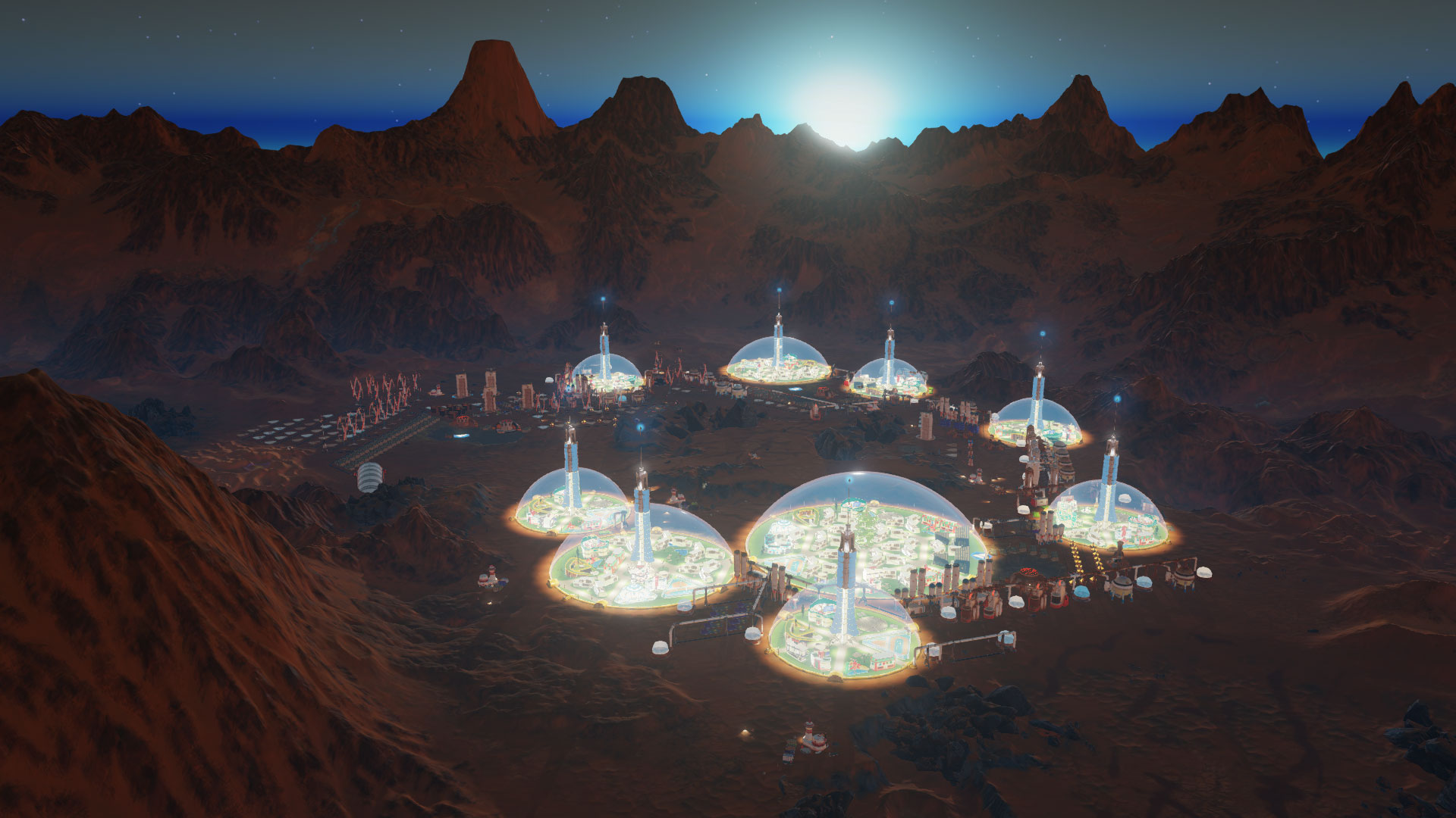 Играйте встратегию Surviving Mars бесплатно все выходные