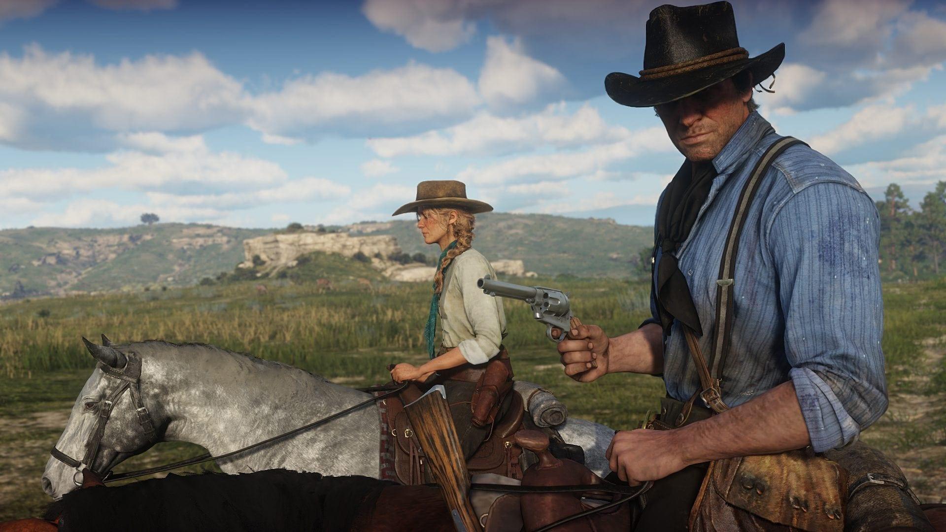 Жуткие вещи творятся в Red Dead Online: горы трупов лошадей ипустые