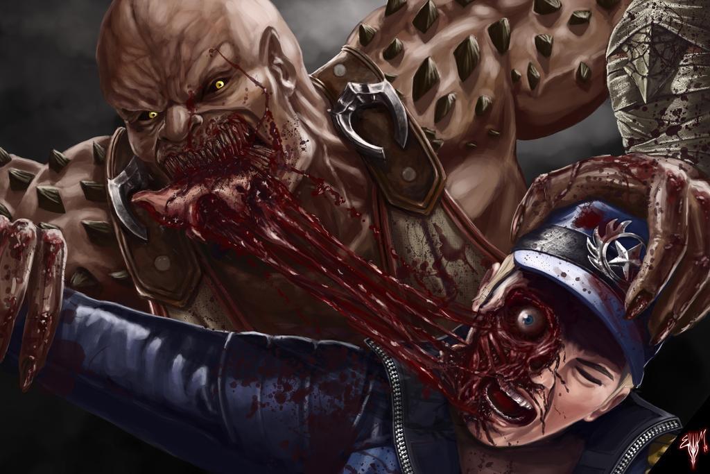 ЭдБун посчитал слишком жестокими арты фаната Mortal Kombat