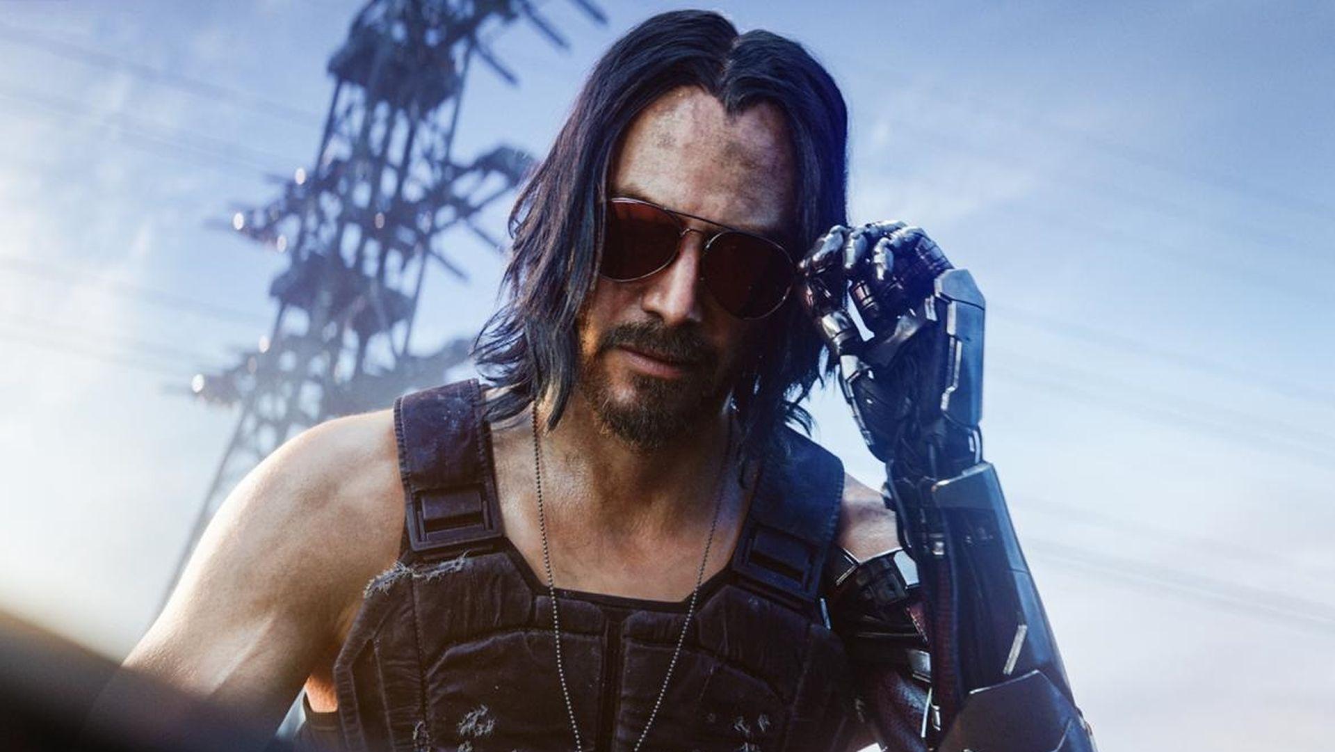 Киану Ривзу так понравилась Cyberpunk 2077, что разработчики решили вдвое удвоить время его героя