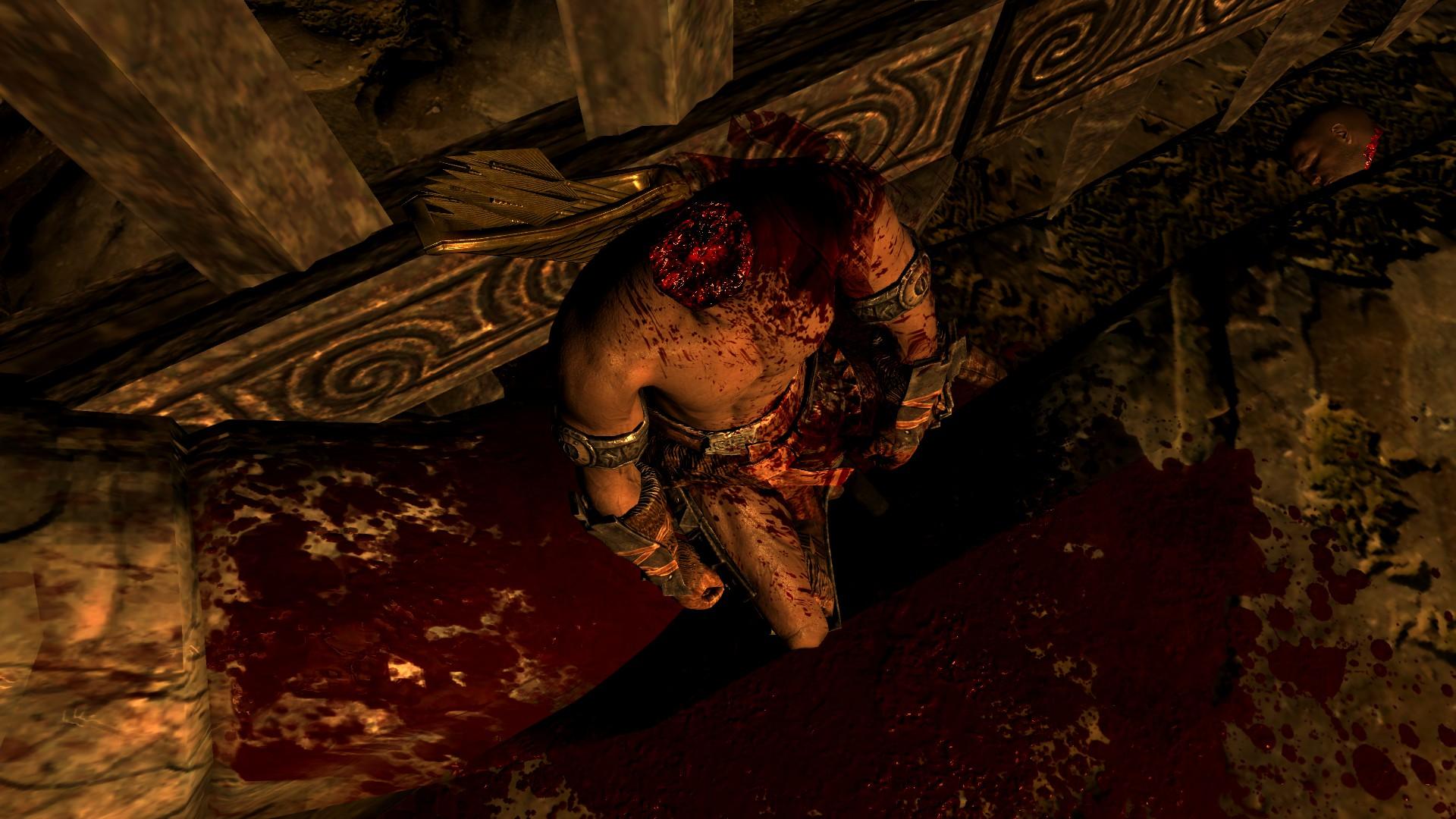 Skyrim стал более кровавым ижестоким