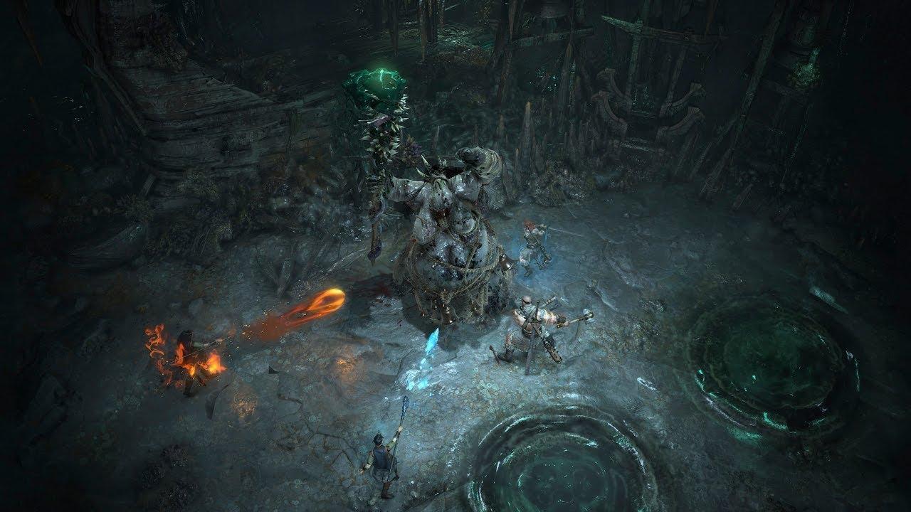 Варвар иволшебница сносят все насвоем пути вновом ролике Diablo 4