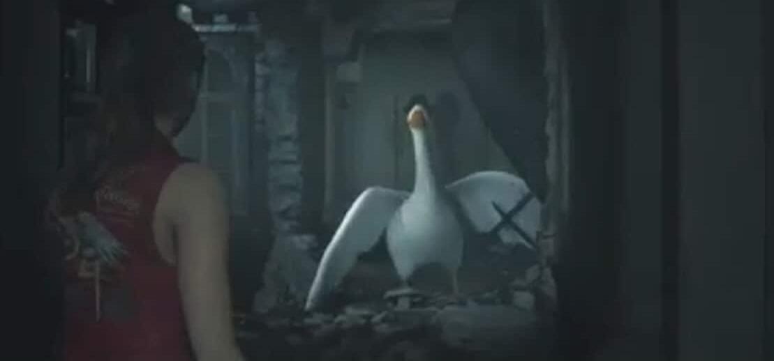 Очень забавный мод Resident Evil 2 Remake