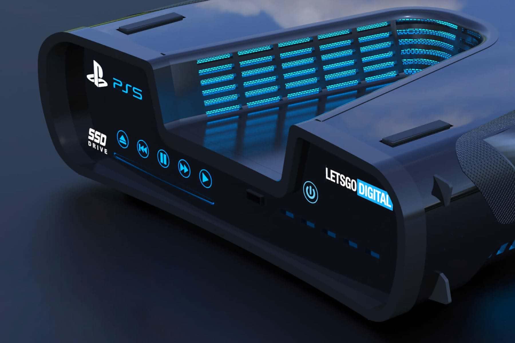 Появились фото консоли Playstation 5