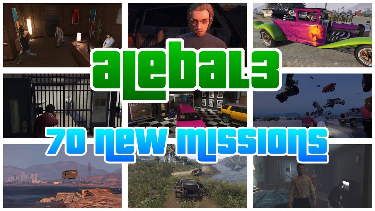 ВGTA Vпоявилось 70 новых миссий благодаря моду
