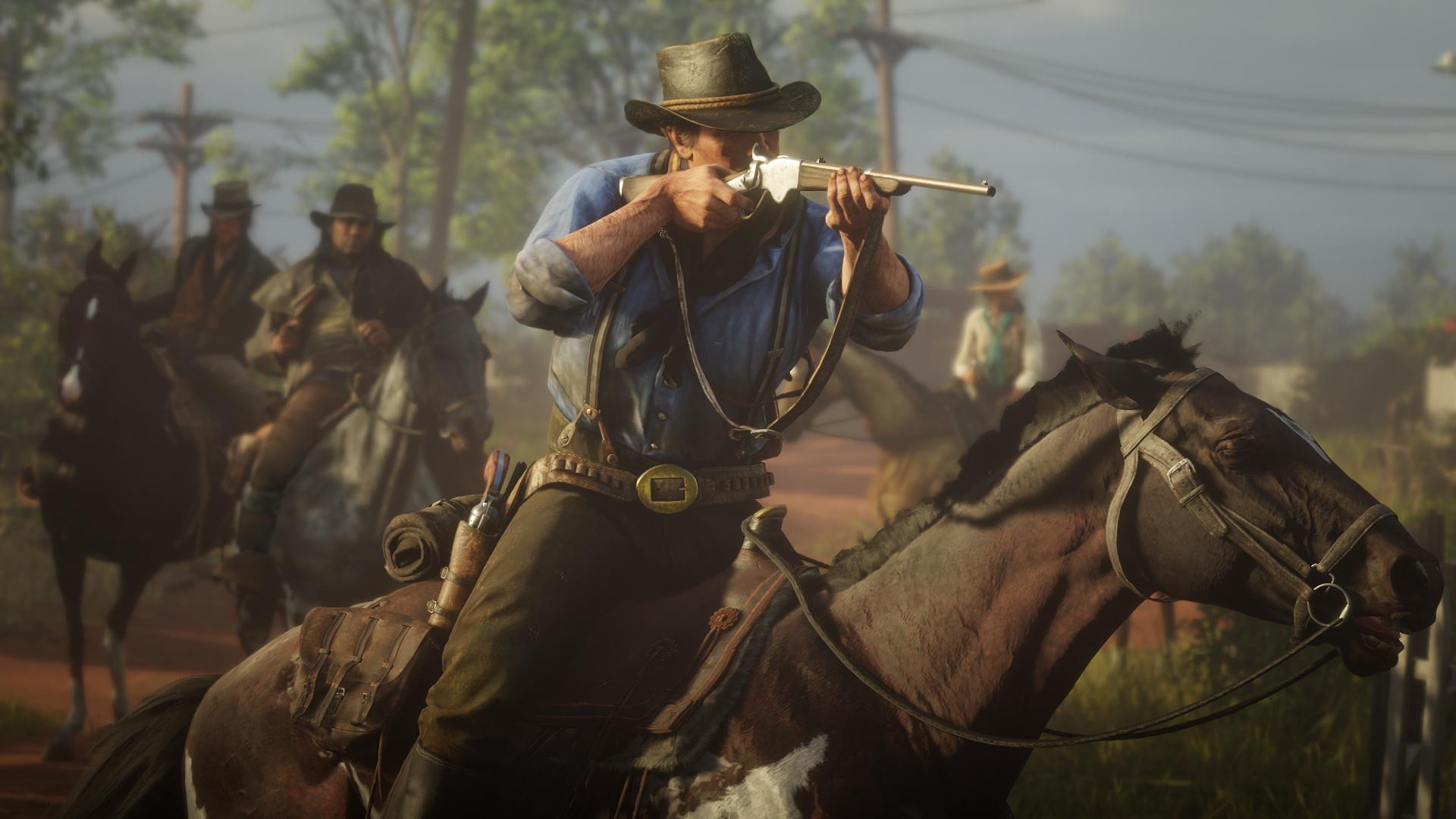 Вышел релизный трейлер Red Dead Redemption 2 наPC