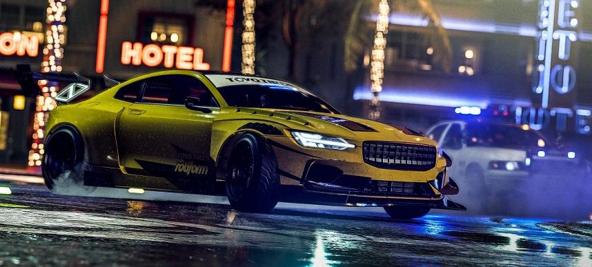 Вышел ролик, где показали все машины изновой Need for Speed Heat