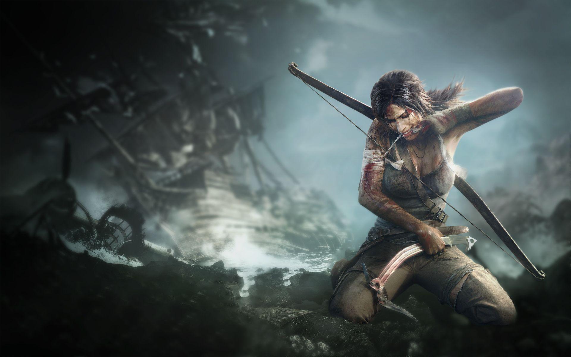 Распродажа серии Tomb Raider вSteam