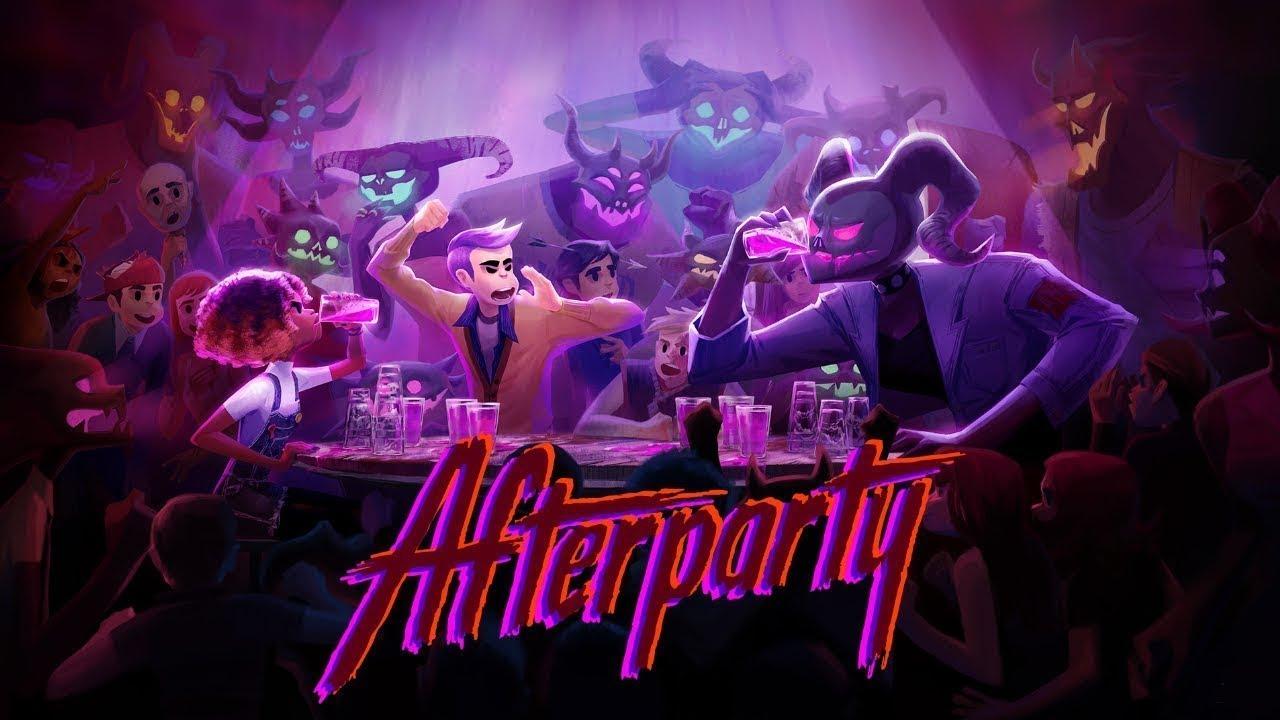 Трейлер игры Afterparty — перепейте саму Сатану
