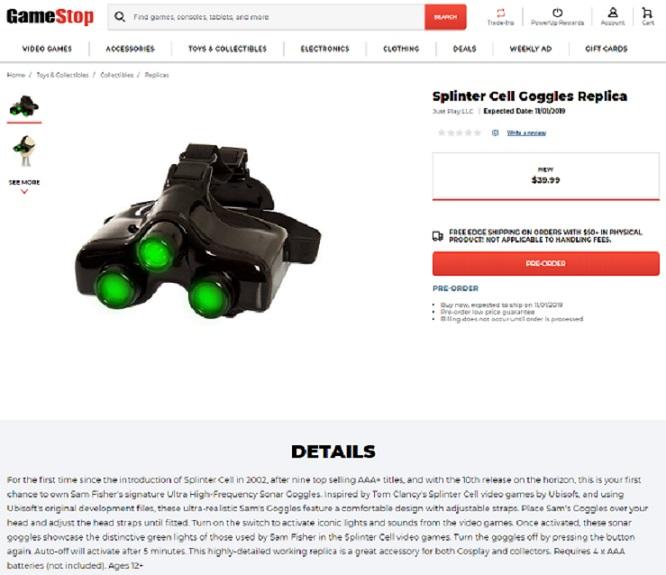 Всети обнаружили намек оближайшем релизе новой части Splinter Cell