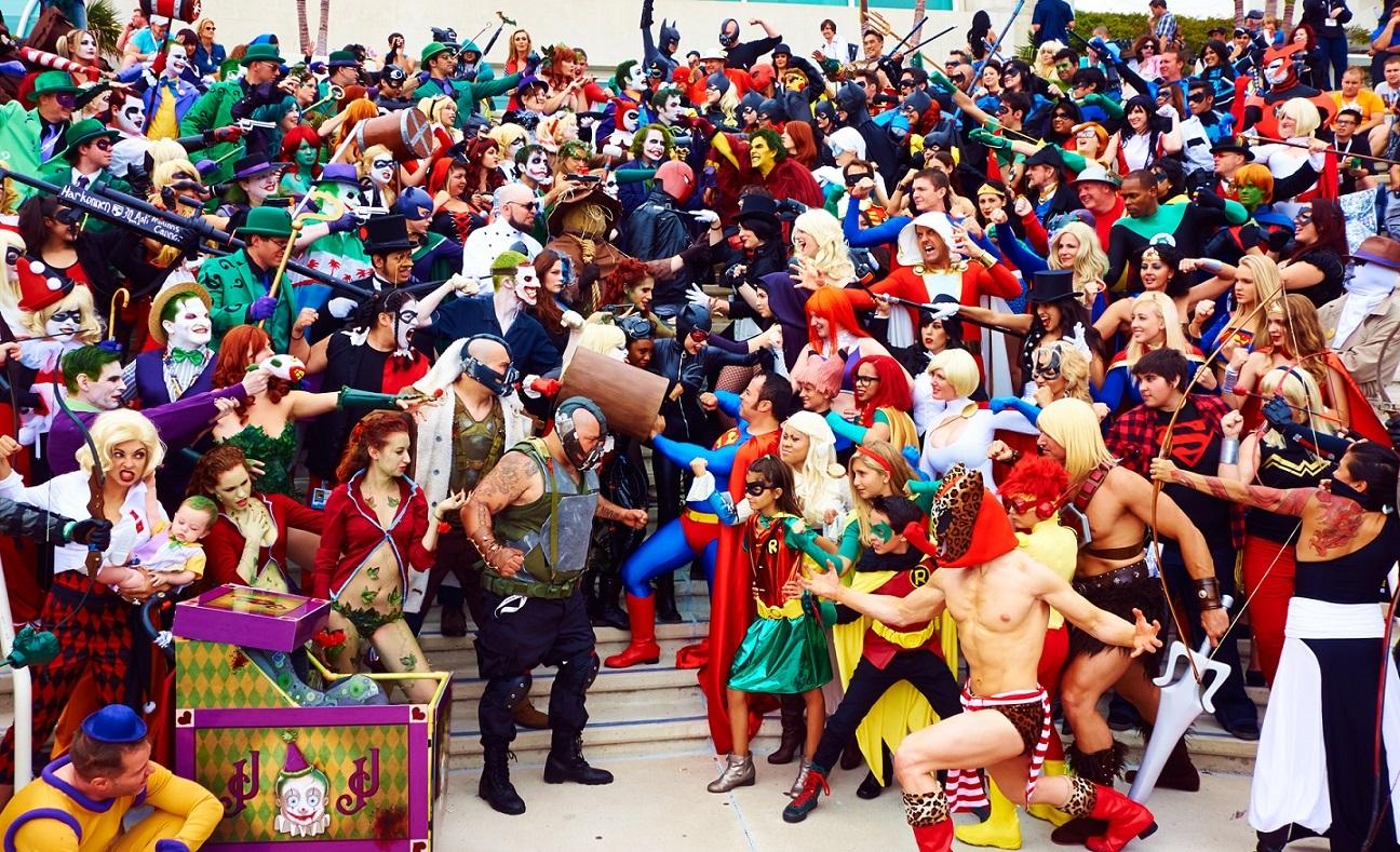 Известный фестиваль Comic-Con отменили из-за коронавираса. Впервые за50 лет.