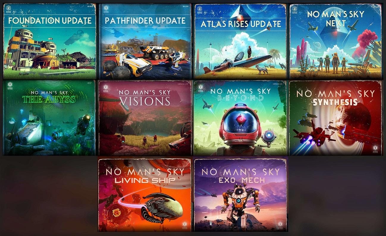 Разработчики NoMan's Sky готовят серию новых обновлений