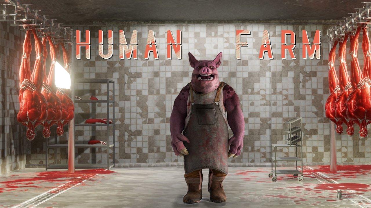 Жестокая игра про свиней илюдей анонсированная 1 апреля оказалось реальным проектом