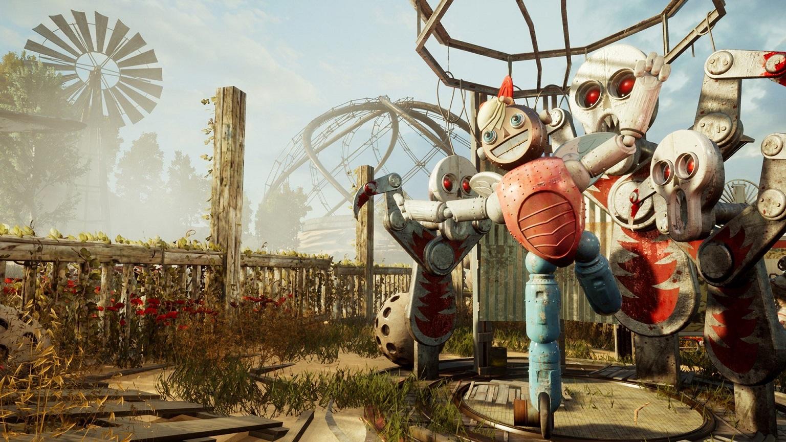 Для российского шутера встиле Fallout  Atomic Heart вышел новый тизер