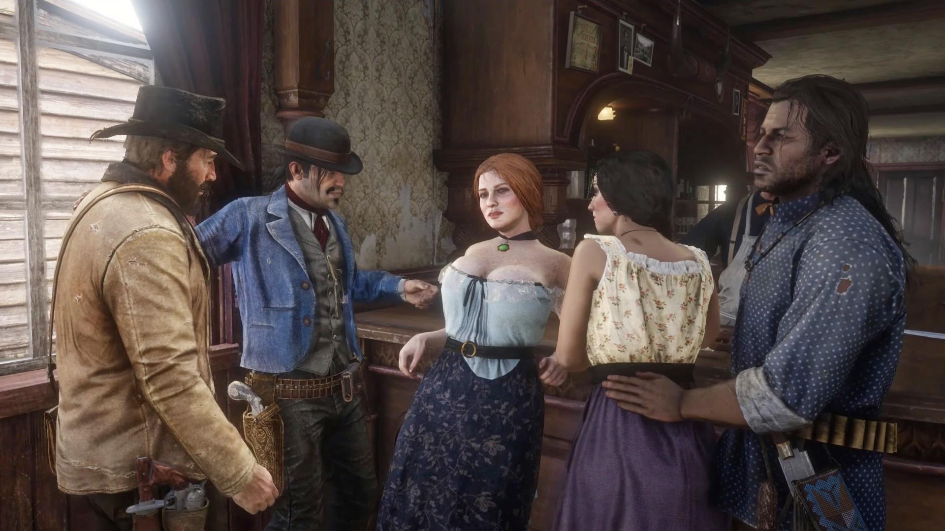Издателю Red Dead Redemption 2 непонравился мод, который добавляет вигру секс спроститутками