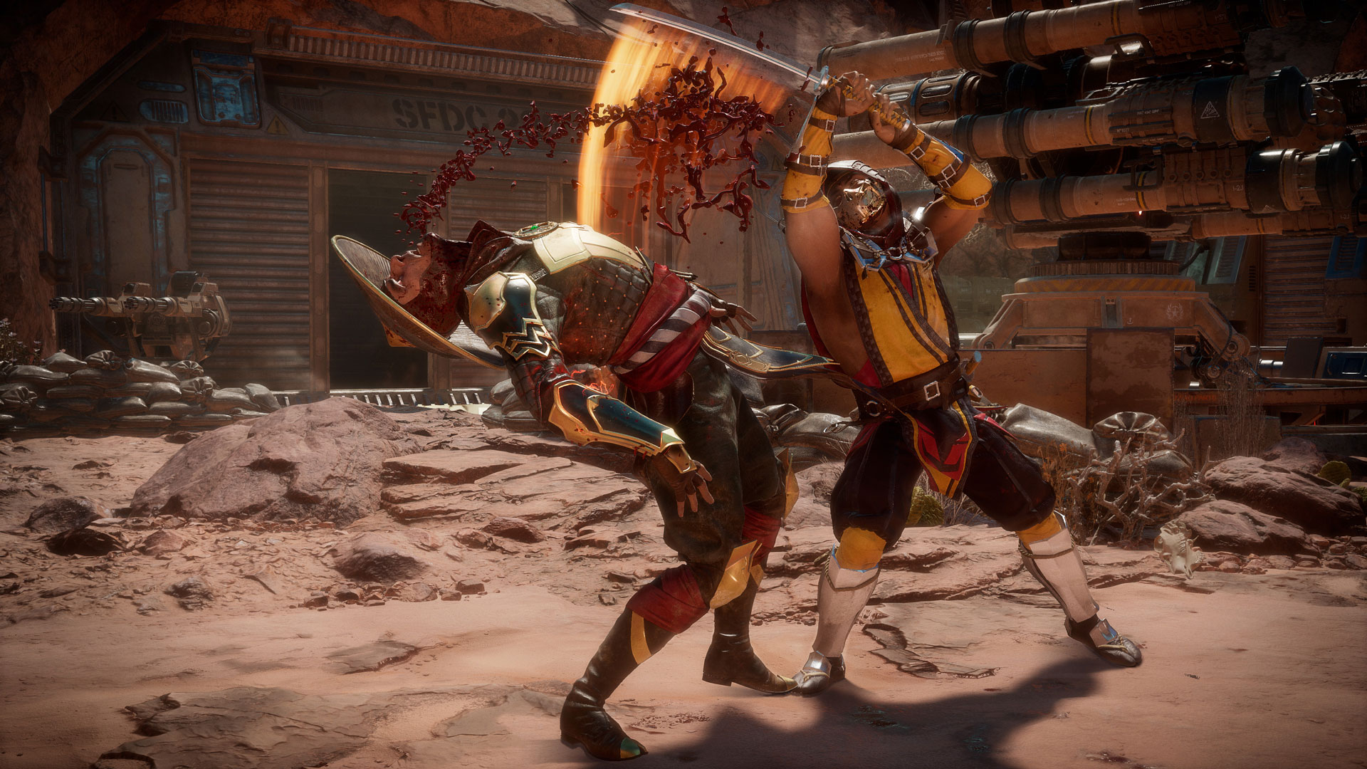 Распродажа франшизы Mortal Kombat вSteam