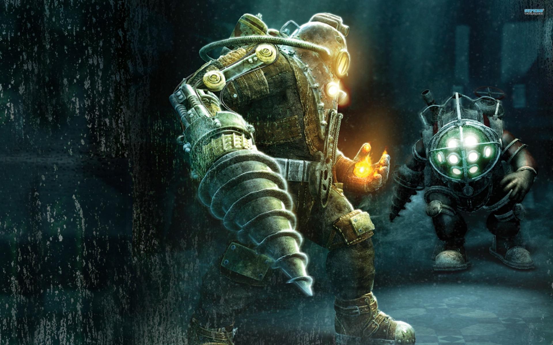 Свежая информация оновой BioShock