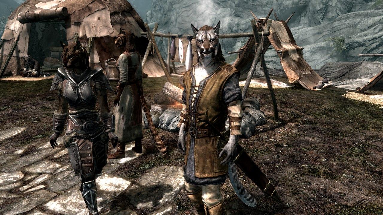 Ютубер показал какбы смотрелись герои Skyrim вреальной жизни