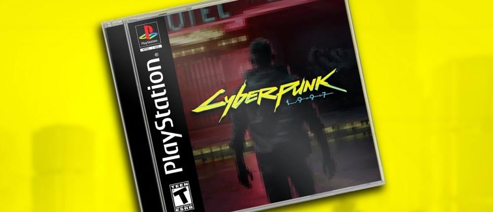 Какбы выглядела играCyberpunk 2077 для PlayStation 1?