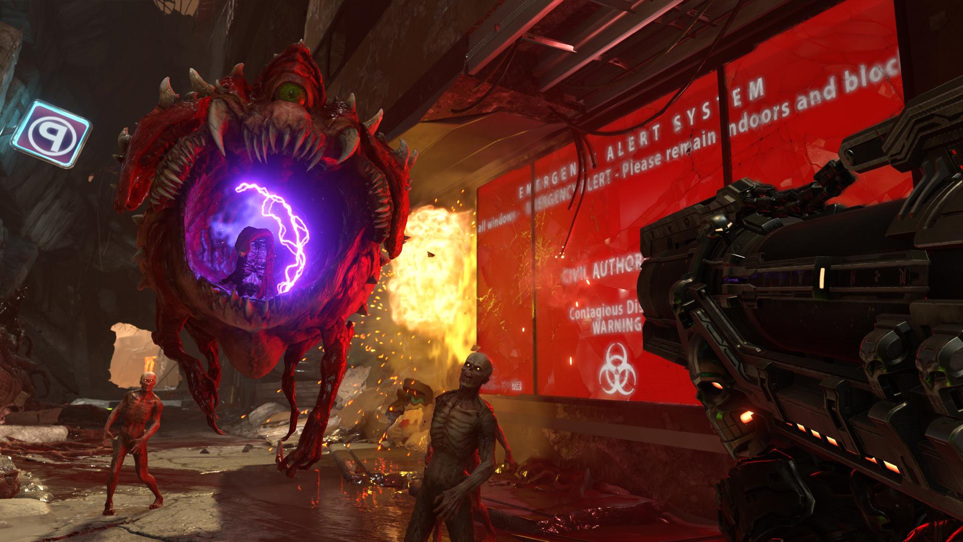 Новый ролик геймплея Doom Eternal